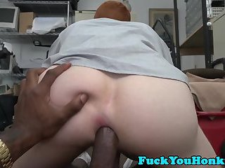 Ginger straightys ass stretched out by BBC