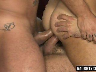 Latin bear dap with cumshot