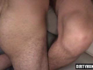 Muscle boy flip flop and creampie