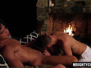 Latin gays anal sex with cumshot