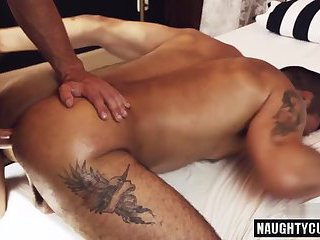 Latin gay spanking and facial cum