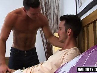 Hairy gay anal with anal cumshot