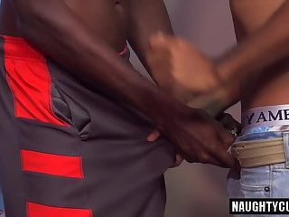 Latin gay interracial with cumshot