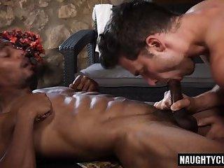 Big dick bottom oral sex with cumshot