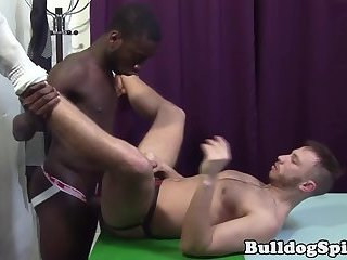 Rimmed UK stud gets assfucked hard by bbc
