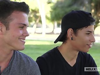 Aiden en Elliott