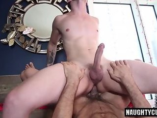 Big dick gay oral sex and cumshot