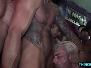 Hot son interracial and cumshot