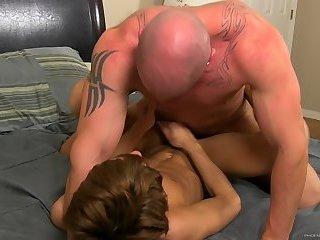 Muscle boss fucks his twink worker