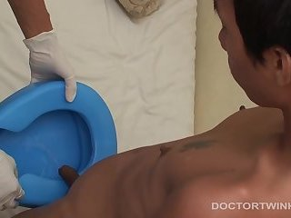 Kinky Medical Fetish Asians Oliver and Joe Bareback