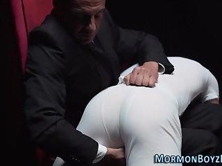 Gay mormon gets tugged