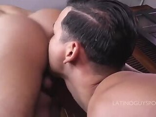 3 Hot Latin Boys in Hot Bareback Action, must Watch!